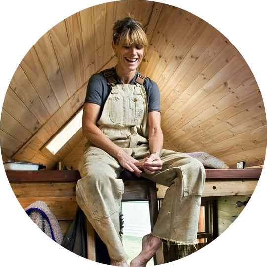 For tiny house pioneer Dee Williams, building an 84 s.f. house—on her own, from the ground up—was just the beginning of building a whole new life.