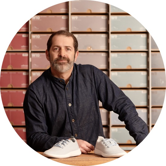 """Joey Zwillinger is co-founder and co-CEO of Allbirds, the sustainable wool footwear dubbed by Time magazine as """"the world's most comfortable shoe."""""""